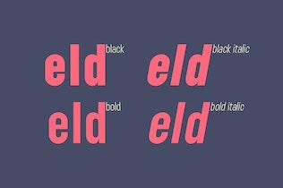 Thumbnail for Lostfield Sans Font