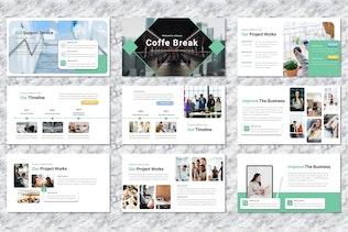 Thumbnail for Gaffei - Company Profile Googleslide Templates