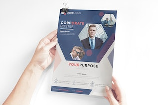Thumbnail for Corporate Poster Template