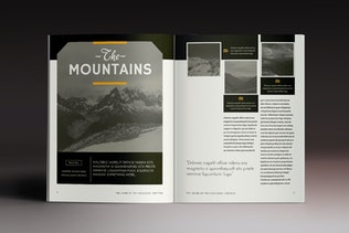 Thumbnail for Multipurpose Magazine 4 Indesign Template