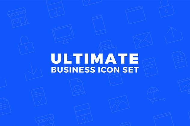Ultimate Business Icon Set - product preview 1