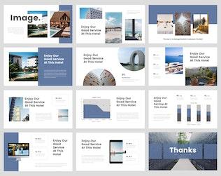 Thumbnail for Sava - Hotel Keynote Template