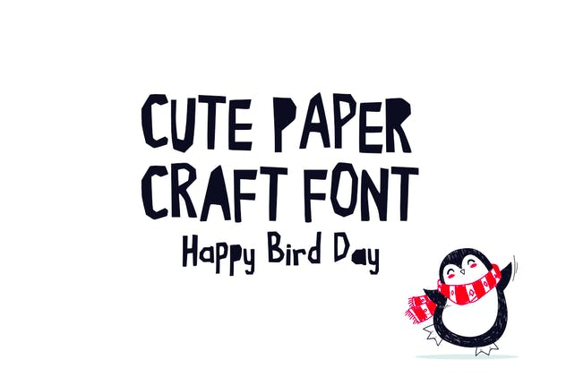 Cute Kraft Fonts - product preview 2