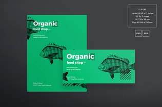 Thumbnail for Organic Food Flyer and Poster Template