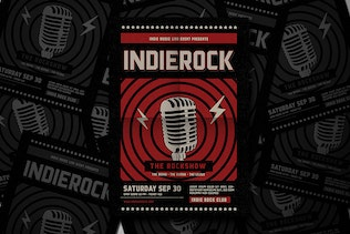 Thumbnail for Indie Rock Flyer