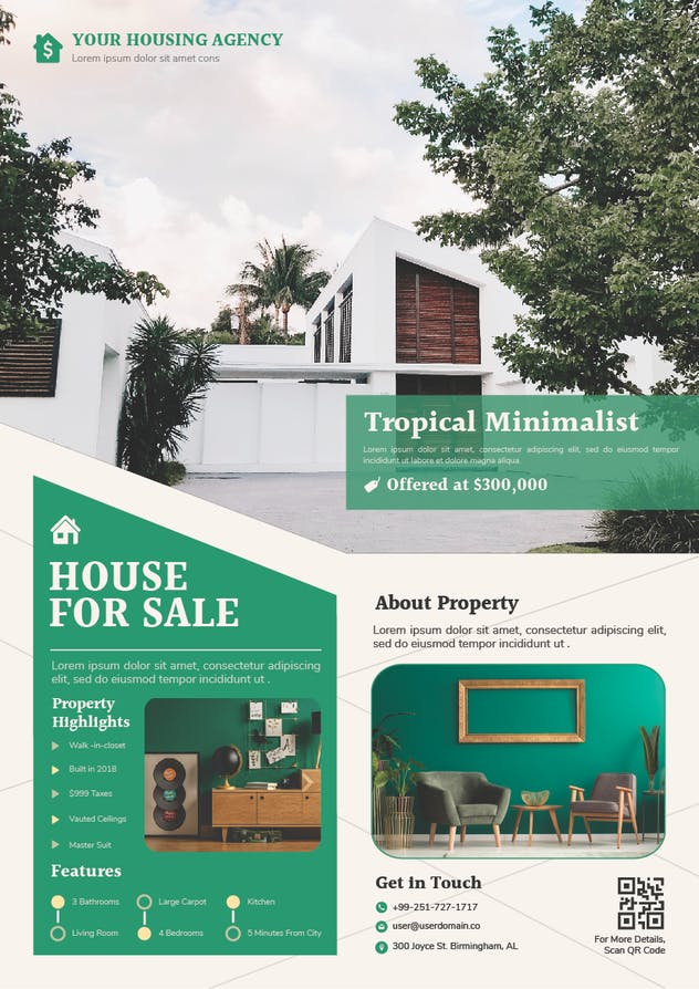 HouseSale Flyer - product preview 1