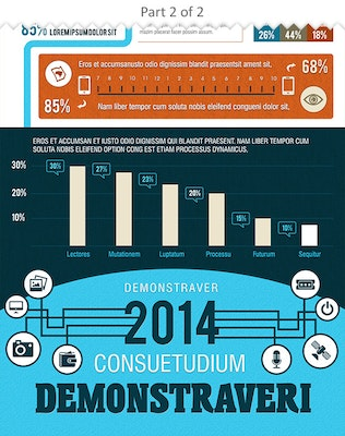 Thumbnail for Element Rich Business Infographics Template