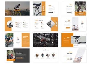 Thumbnail for Ride - Powerpoint Template