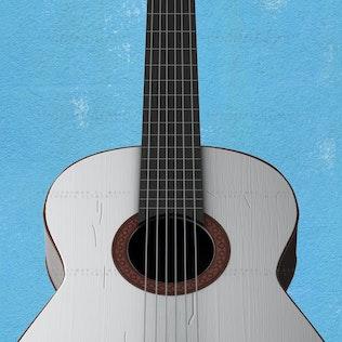 Guitar Face PSD Mock-up