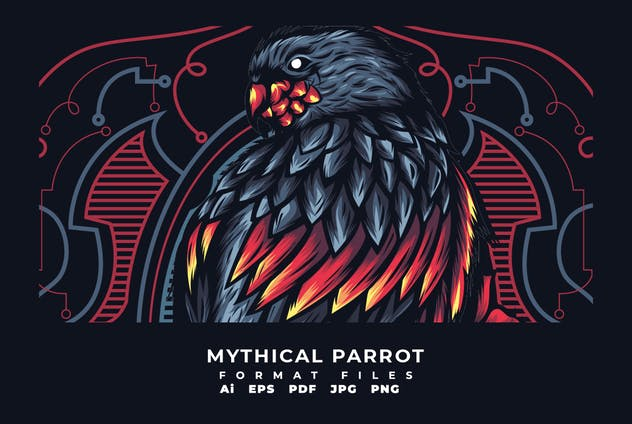 Mythical Parrot