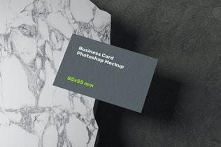 Thumbnail for 85x55 Business Card Mockups