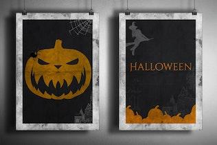 Thumbnail for Devilishly Cool Halloween PSD Brushes