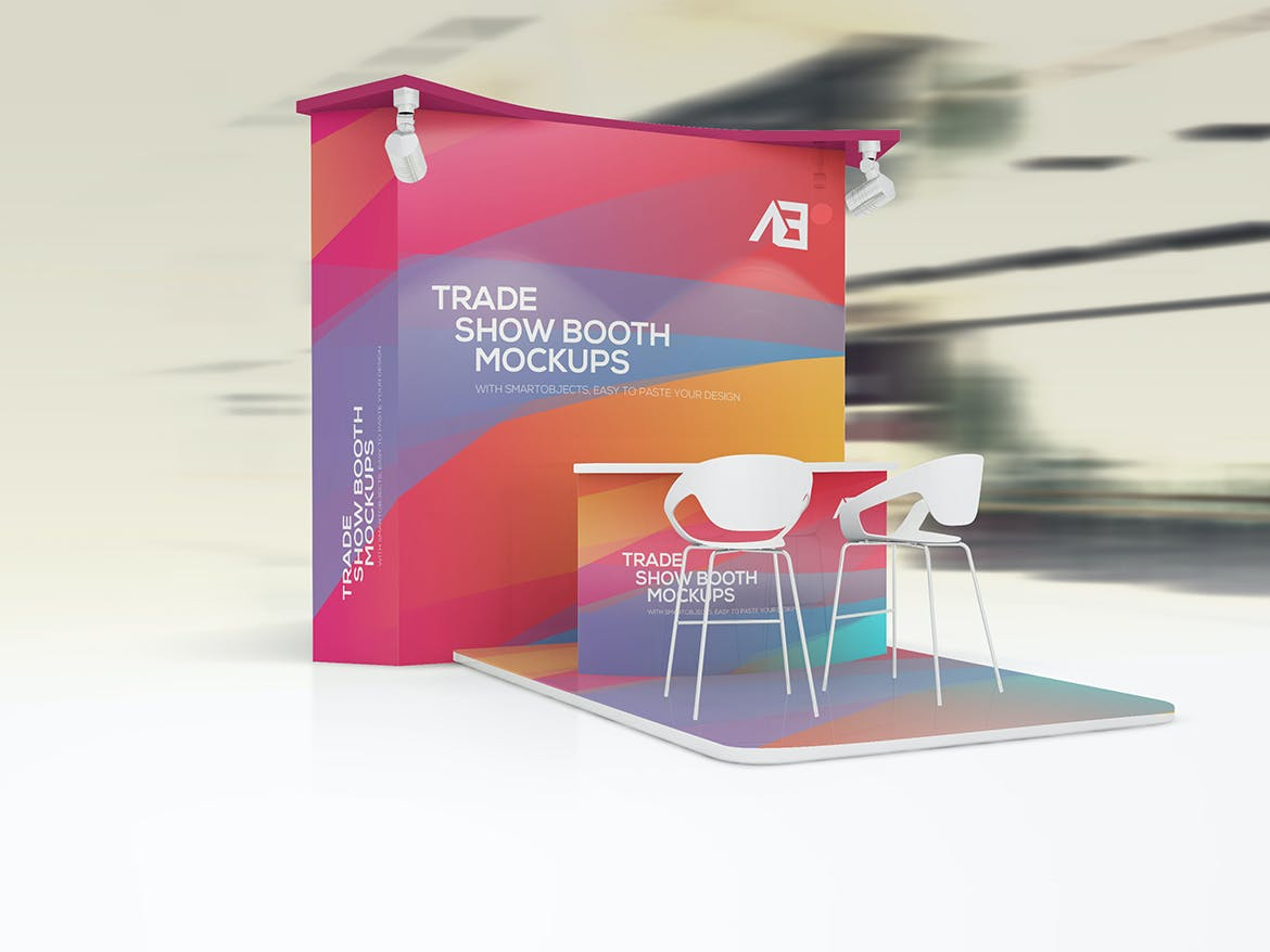 Trade Show Booth Mockups by Wutip on Envato Elements