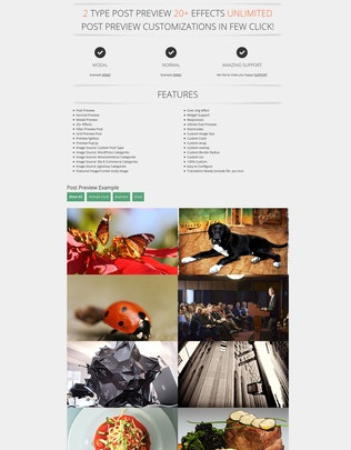 Thumbnail for AD Post Preview Wordpress Plugin
