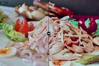 Thumbnail for 20 Food Lightroom Presets