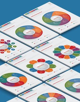 Миниатюра для Инфографический дизайн Круга