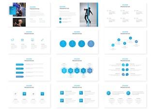 Thumbnail for Houdini - Google Slides Template