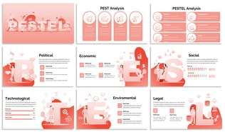 Thumbnail for PESTEL - Design Illustration for Powerpoint