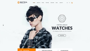 Thumbnail for Setra - Ecommerce PSD Template