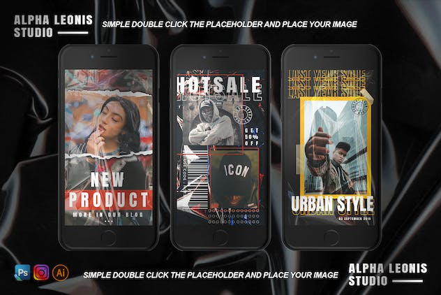 Urban Animated Stories Posts - product preview 4