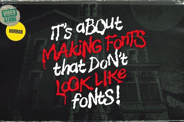Nightmare Street - The Retro Halloween Font