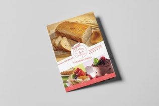 Thumbnail for Bakery & Cupcake Shop - Menu Template