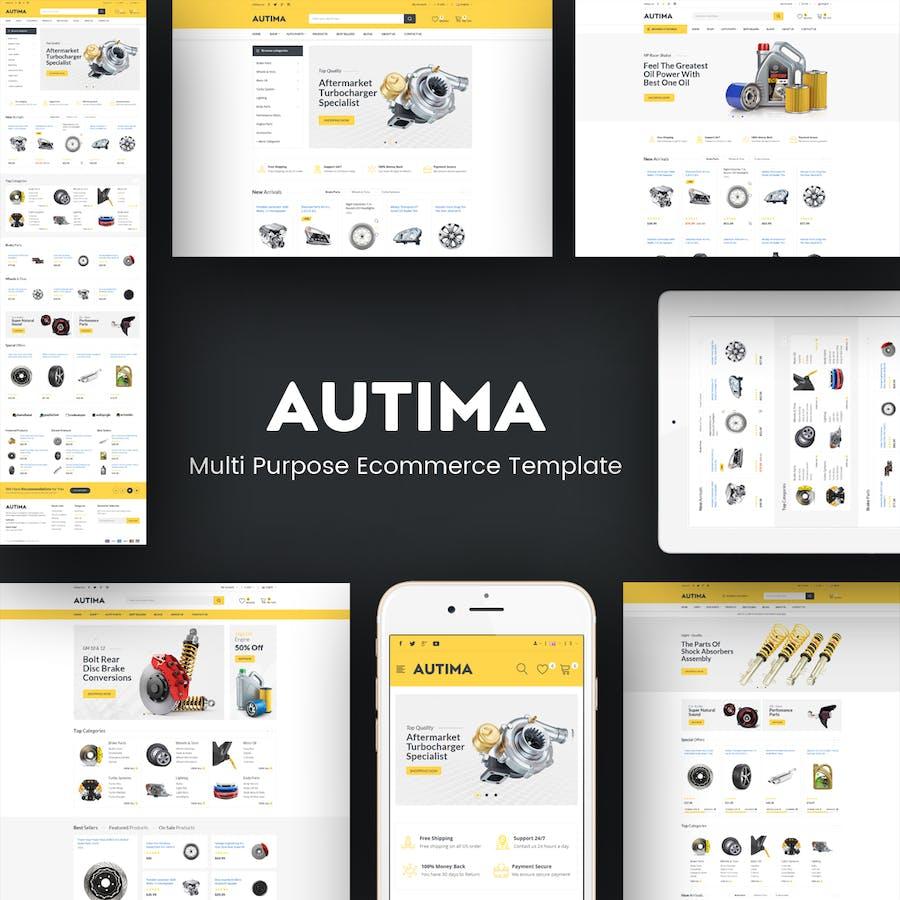 Autima - Car Accessories Prestashop Theme - product preview 1