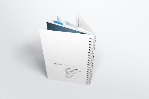 Spiral Bound Book / Catalogue Mockups 2