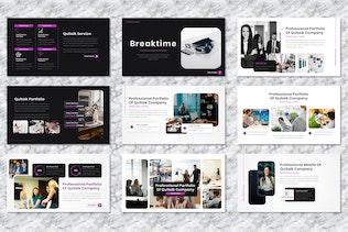 Quitalk - Freelance Powerpoint Templates
