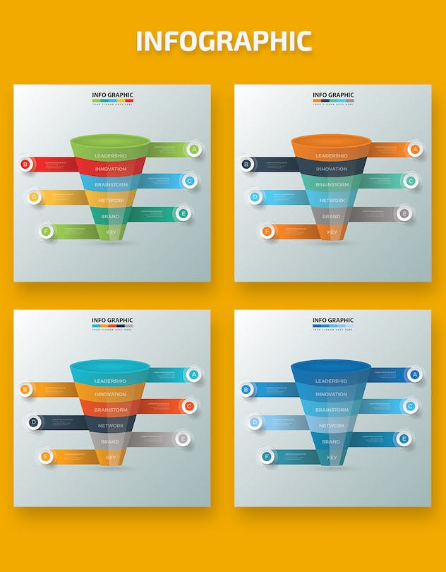 Funnel Infographic Design - product preview 1