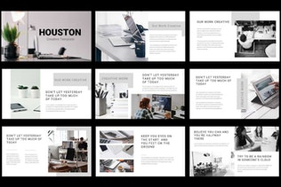 Thumbnail for Houston - Creative Google Slides Template