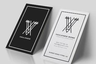 Thumbnail for Creative Business Card + Logo