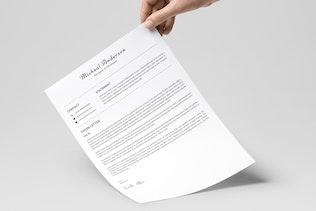 Resume Template 04