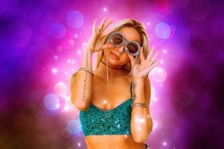 Миниатюра для Magic Bokeh - Анимированный Photoshop Action