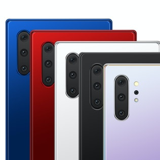 Note 10 Front and Back Layered PSD MockUps