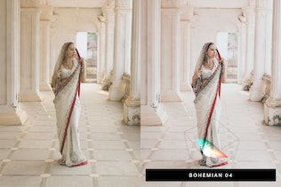 Thumbnail for 50 Traditional Wedding Lightroom Presets and LUTs