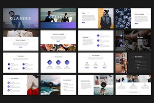 Thumbnail for Glasses PowerPoint Template