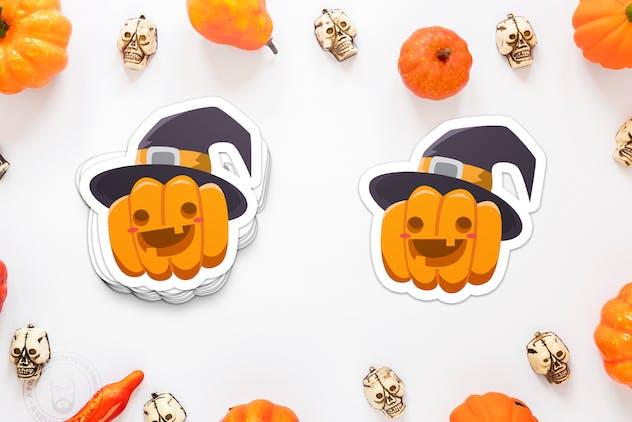 Halloween Cute Pumpkin Laugh - product preview 2