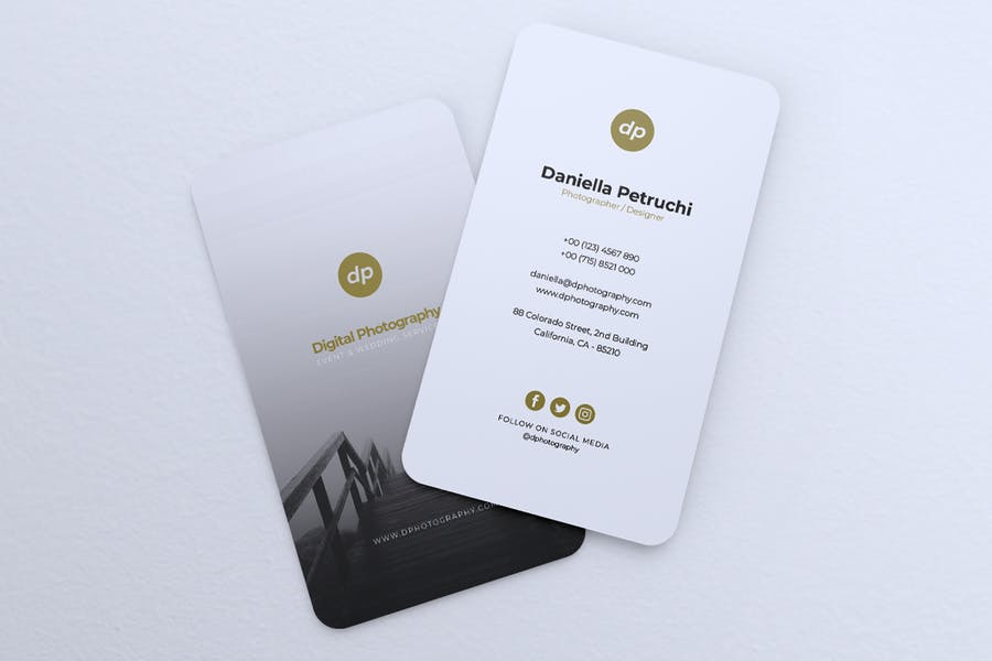Minimalist Business Card Vol. 43 - product preview 5