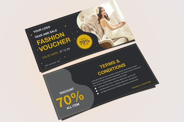 Fashion Voucher - product preview 4