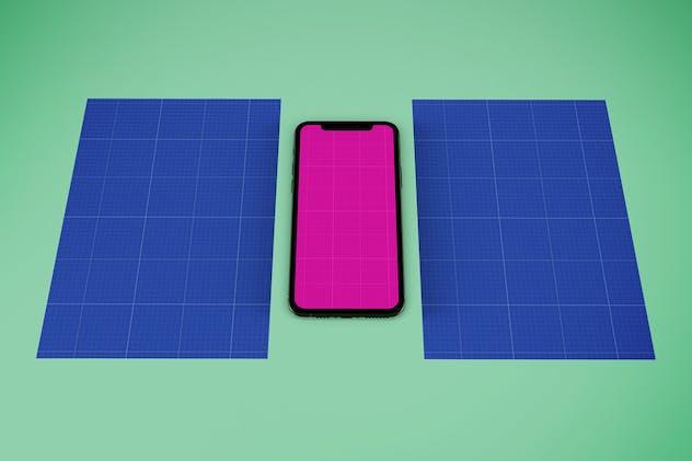 Flyer & iPhone V.1 Mockup