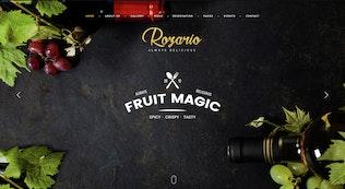 Thumbnail for Rozario - Restaurant PSD Template