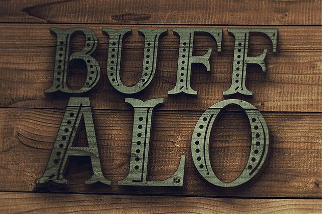 Buffalo Typeface - product preview 0
