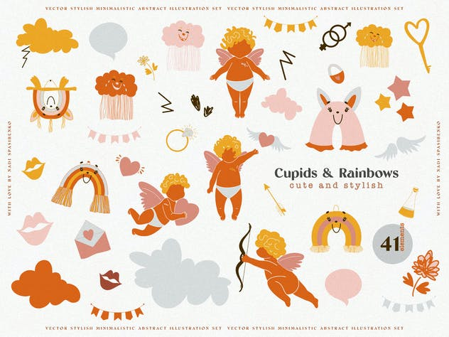 Cupids & Cute Rainbows - product preview 4