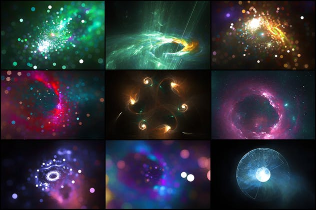 34 Pastel Space Backgrounds - product preview 1