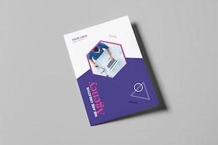 Thumbnail for Brochure – Creative Agency Bi-Fold