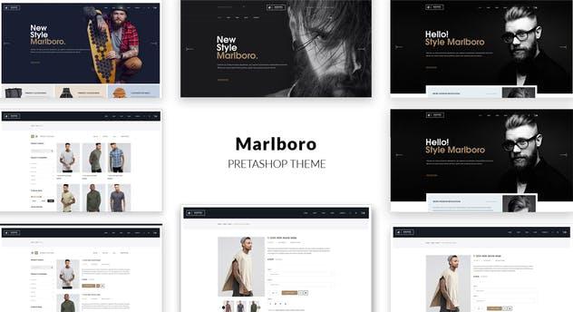 Marlboro- Multipurpose Responsive Prestashop Theme - product preview 1