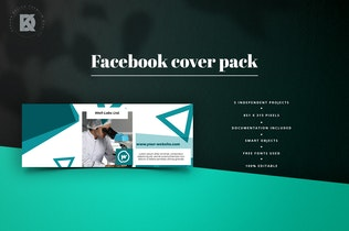 Thumbnail for Medical Facebook Cover Pack
