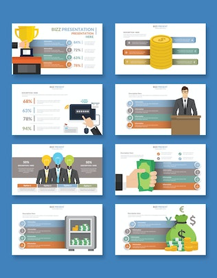 Thumbnail for Financial Powerpoint