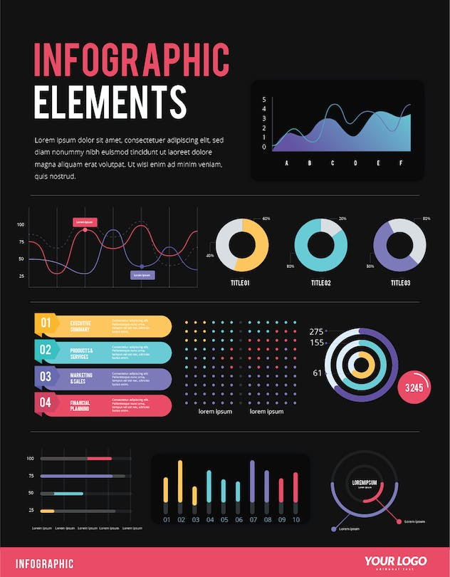 IInfographic Examples for Designer V.44 - product preview 1